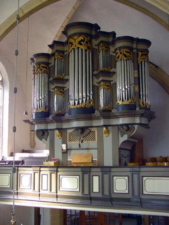 Ahrend-Orgel Uelsen