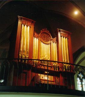 Halmshaw-Orgel 1860