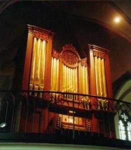 Halmshaw-Orgel 1860 in St. Marien zu Neuenhaus