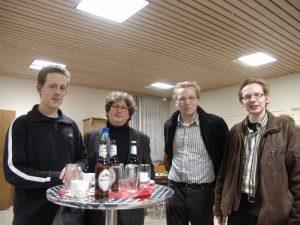 David Dubbink, Egbert Schoenmaker, Jan Westerdijk, Wilke Havinga