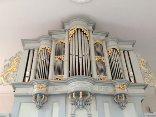 erbaut um 1630. Orgelbauer unbekannt