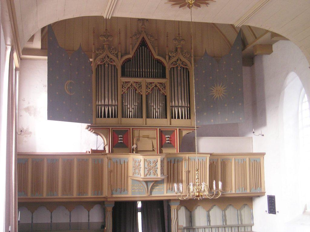 Gotische Orgel Rysum